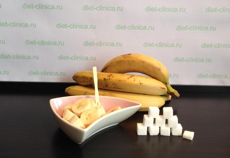 Сахар в банане