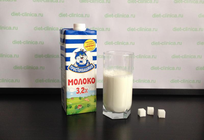 Сахар в молоке