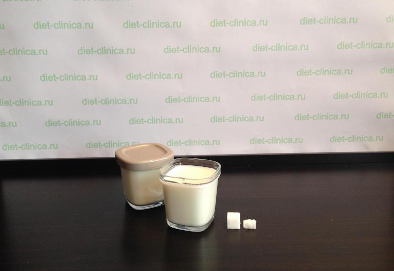 Сахар в домашнем йогурте