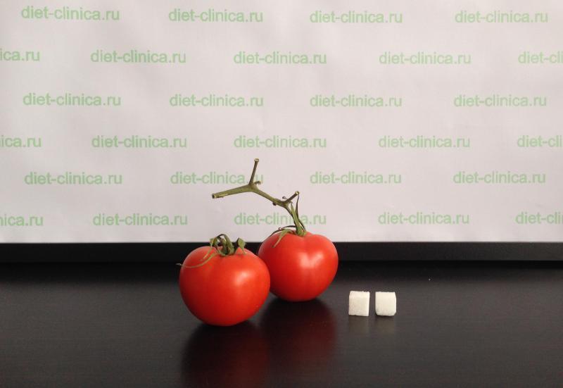 Сахар в помидорах