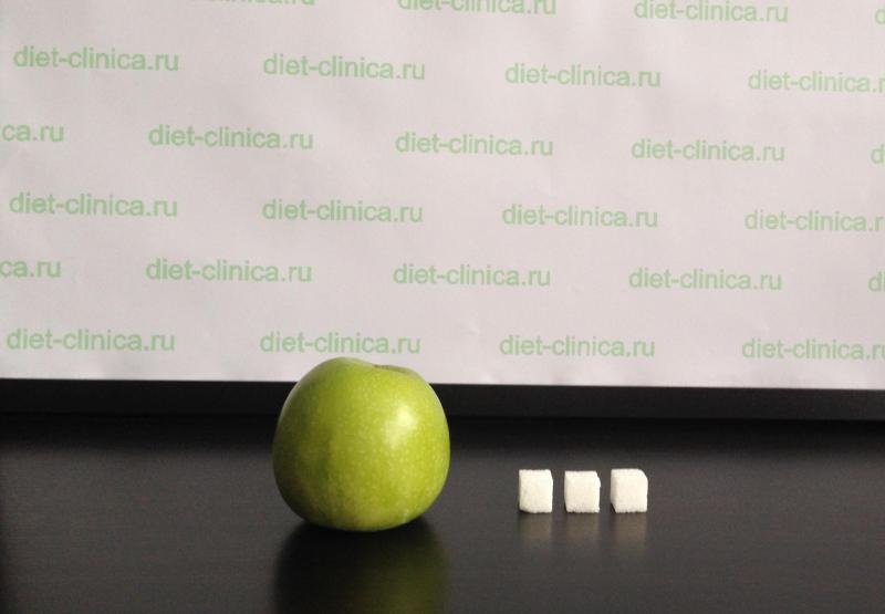 Сахар в яблоках