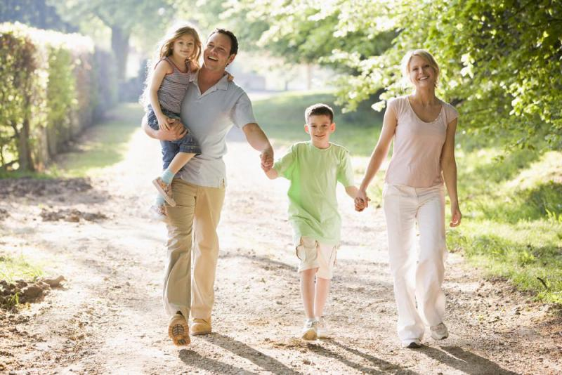 Прогулки для снижения веса