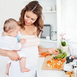 диета кормящей мамы