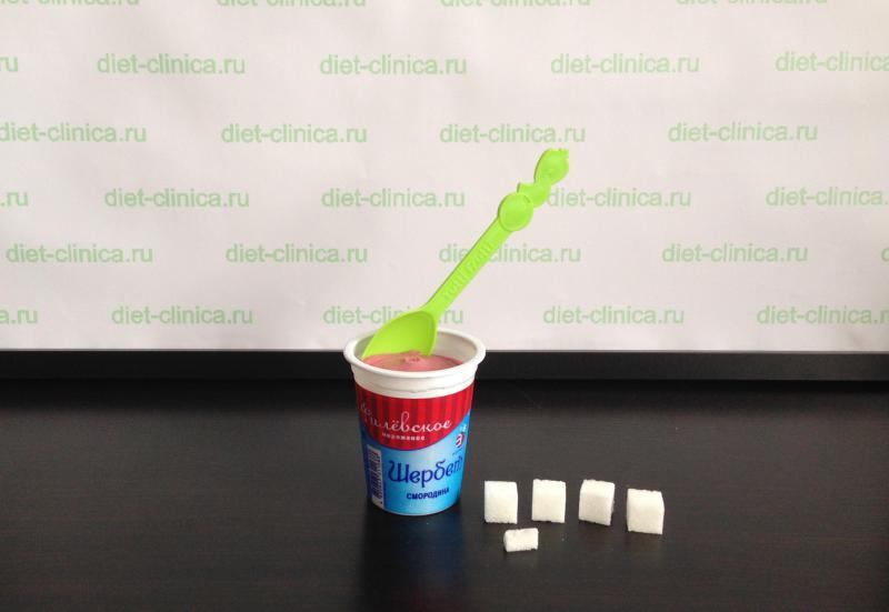Сахар в щербете