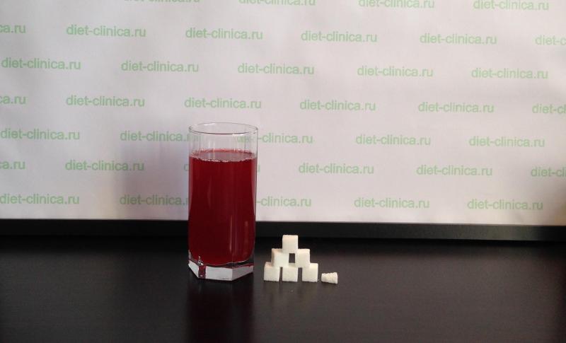 Сахар в домашнем морсе